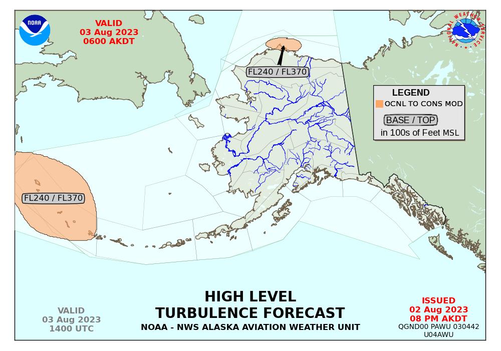 Turbulence Forecasts