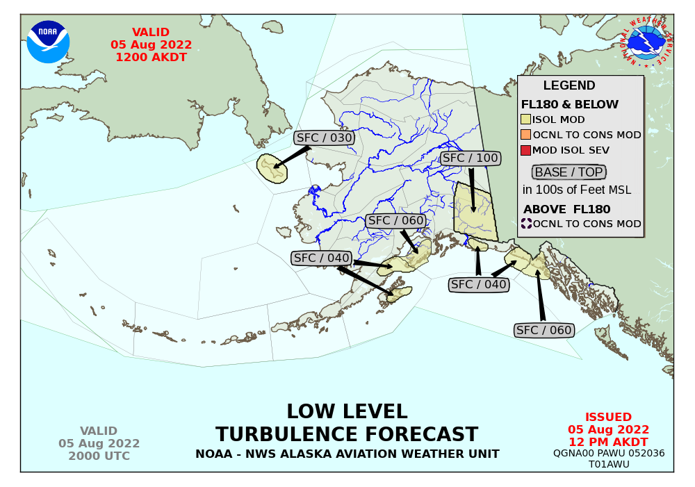 Turbulence Forecast Pilot Reports PIREPs Of Turbulence US - Turbulence maps