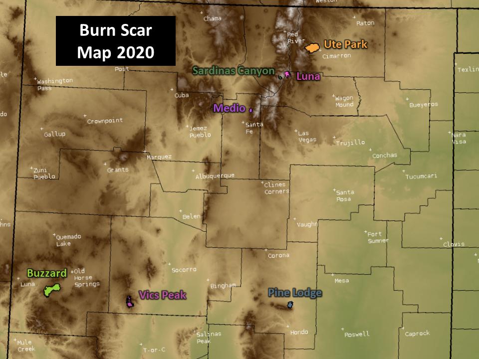 Burn Scar Map
