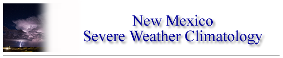 New Mexico Severe Weather Climatology