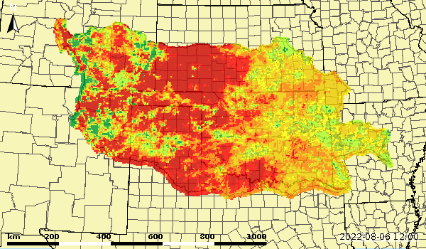 Lower Zone Soil Moisture Anomaly
