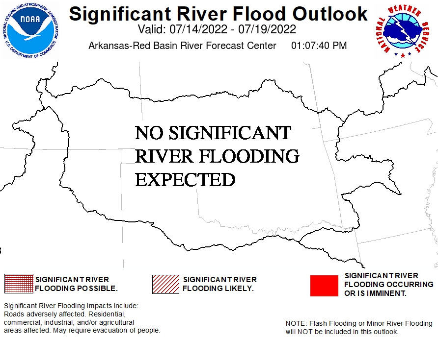 ABRFC Significant Flood Outlook