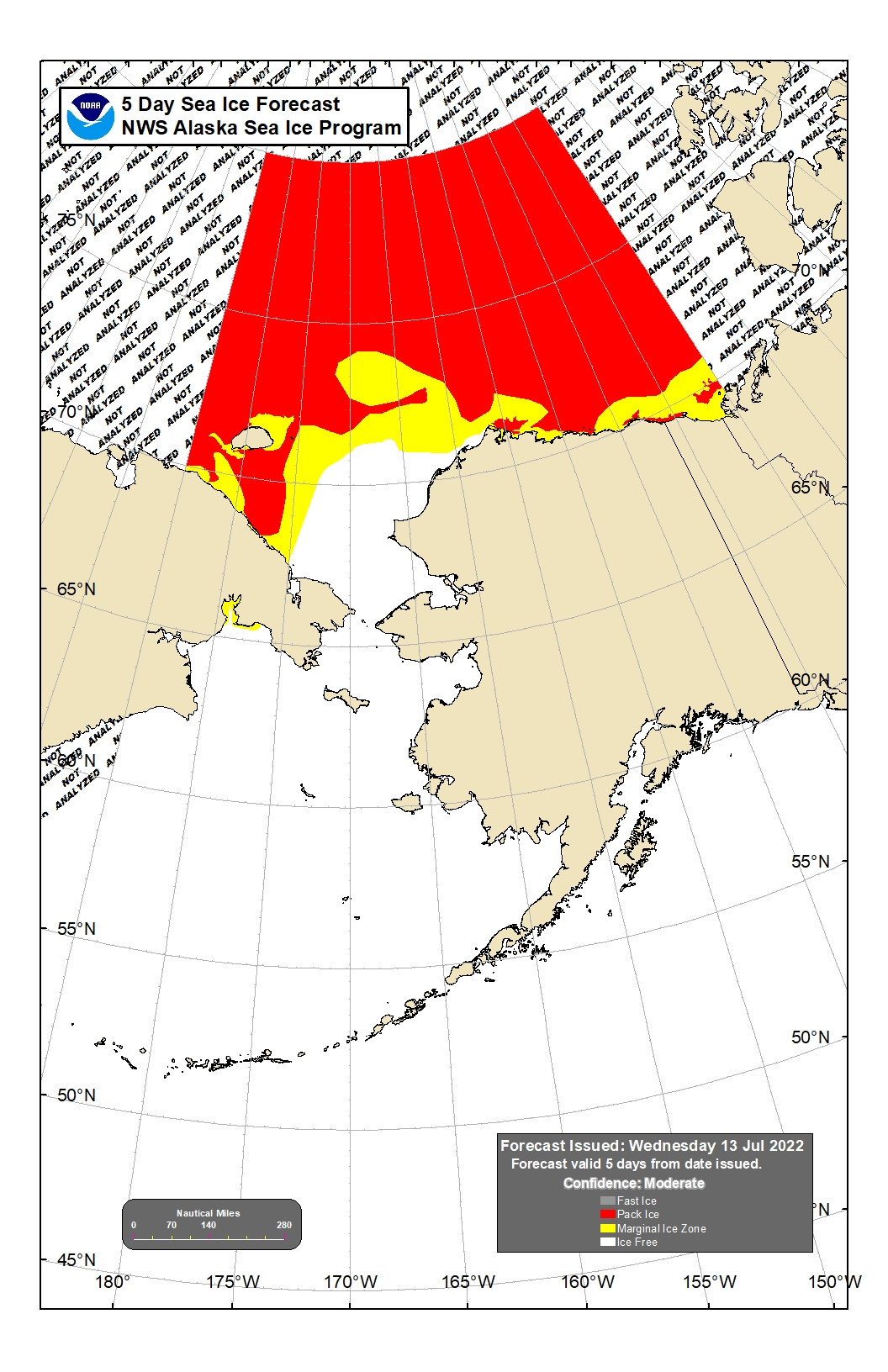 Point Thompson Alaska Map.Marine Forecast