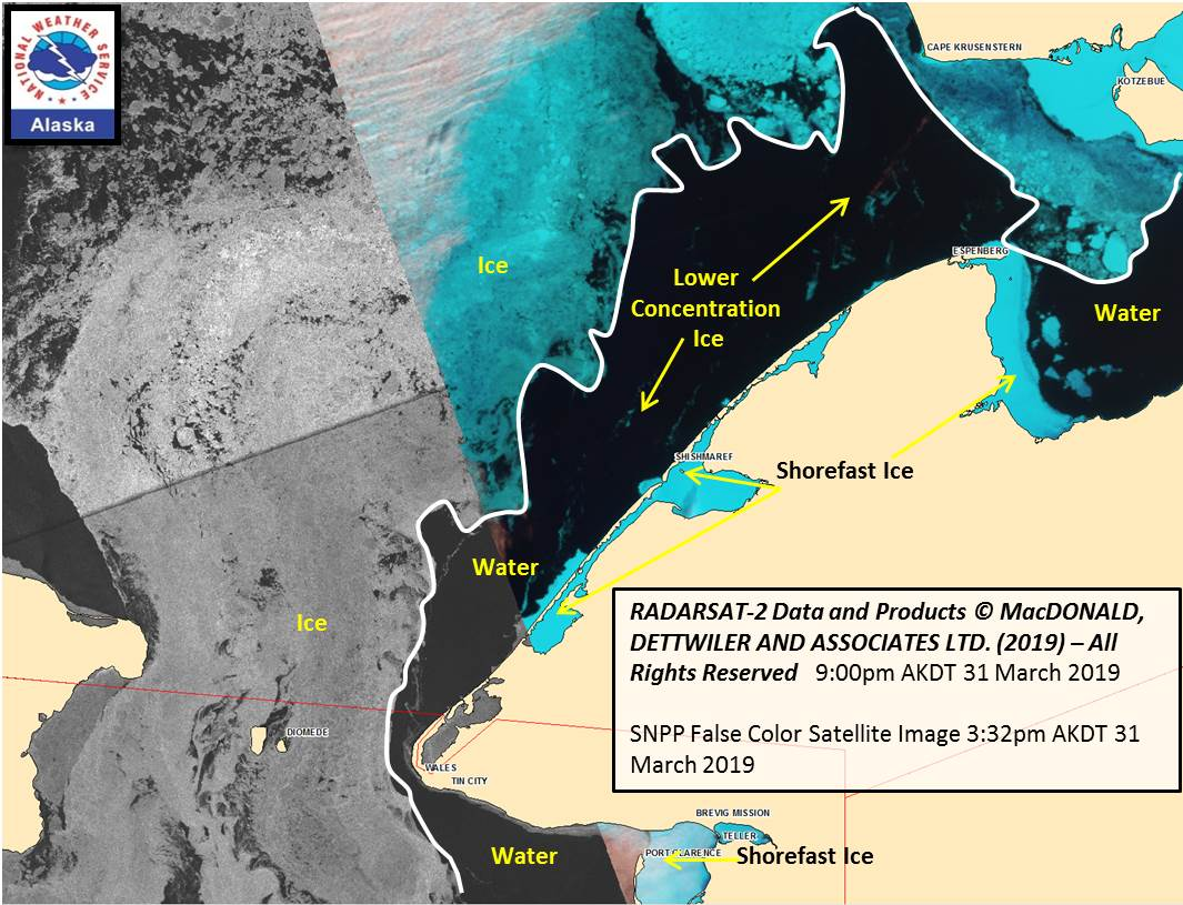 Alaska Sea Ice Program: Satellite Resource Info