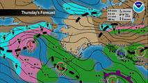 Tv Weather Map.Anchorage Ak