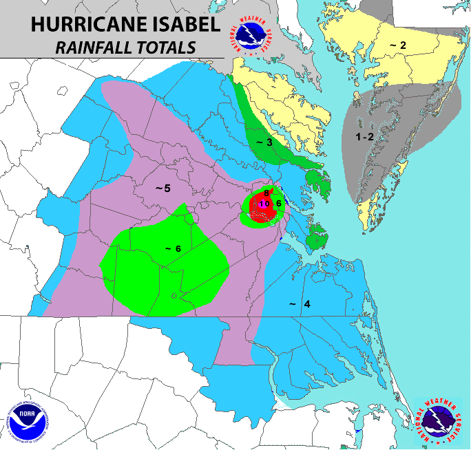 Hurricane Isabel Review