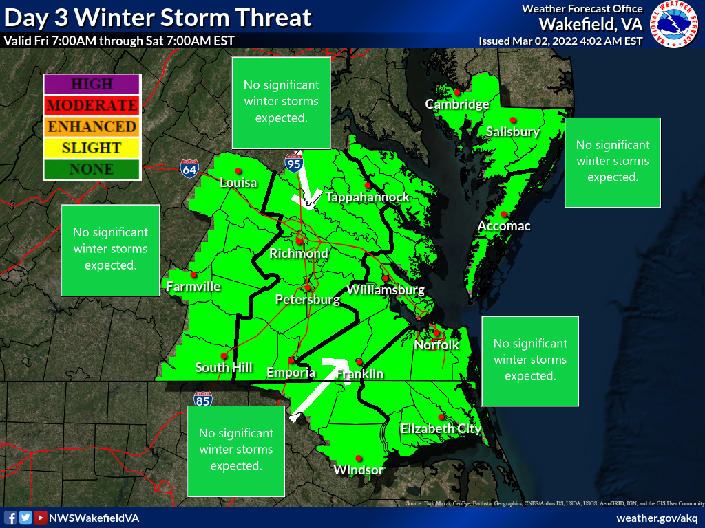 Day 3 Winter Storm Threat