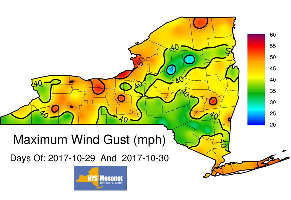 Claverack Power Outage Map.October 29 30 2017 Damaging Winds Heavy Rainfall Flooding