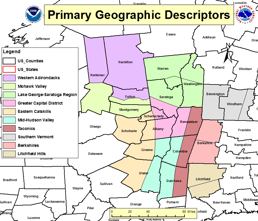 Primary Geographic Descriptors - New York