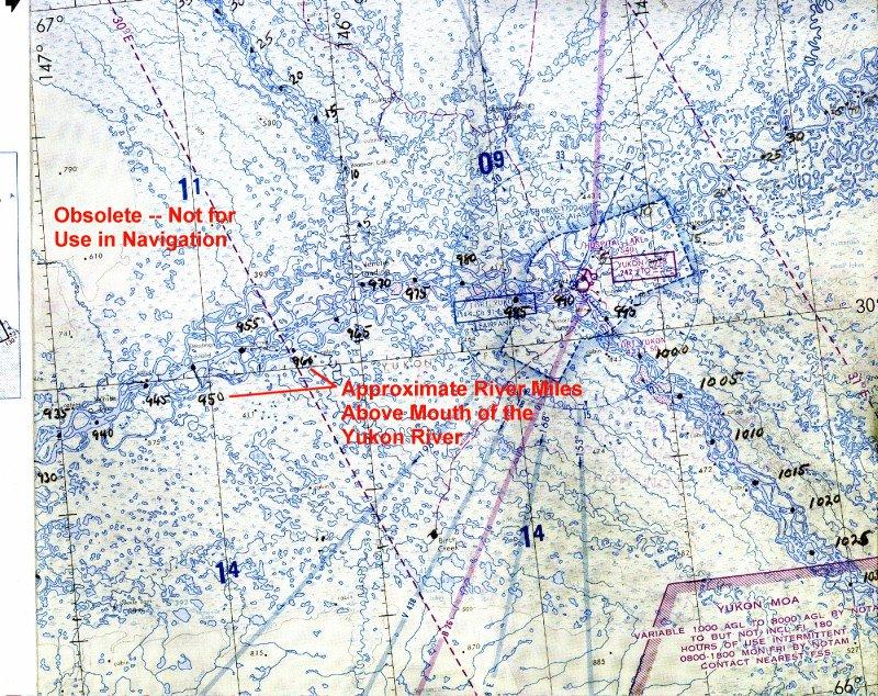 River Mile Maps - Yukon river map