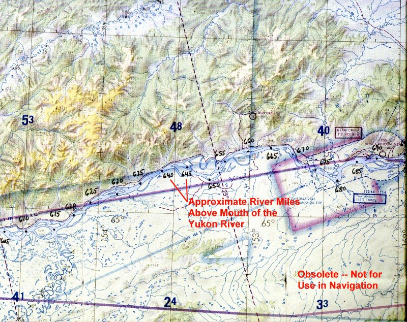 River Mile Maps - Yukon river world map