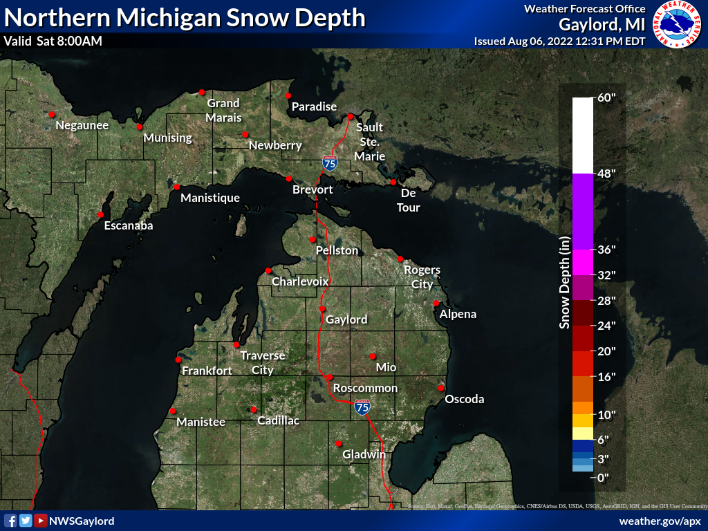 Latest Snow Depth