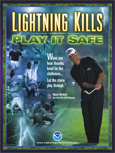 Lightning Safety Poster and Link