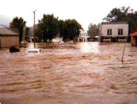 Soldiers Grove Flooding on July 1, 1978