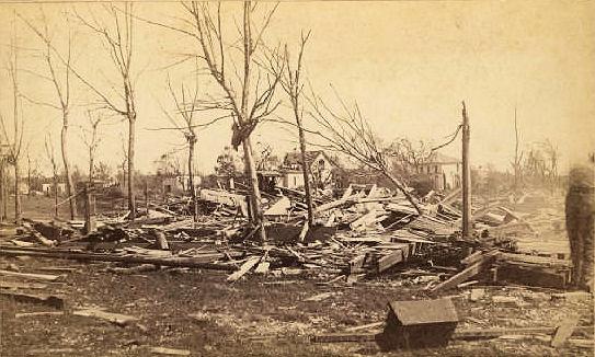 Rochester Tornado Aug 21 1883 Aftermath Photos