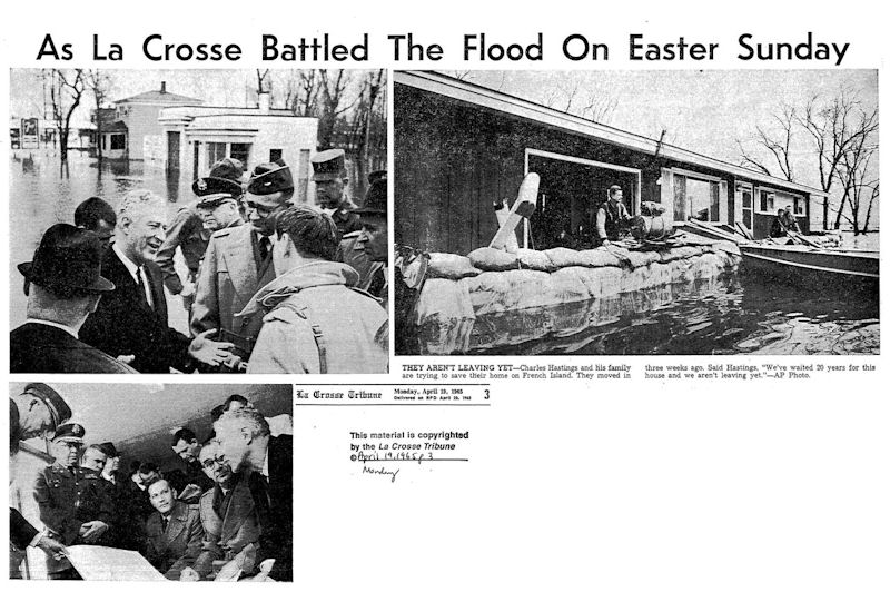 Media Accounts of Mississippi River Flood of 1965