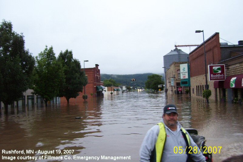 Historic Rainfall And Flooding Of August 18 20 2007