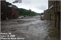 Flooding in Potosi