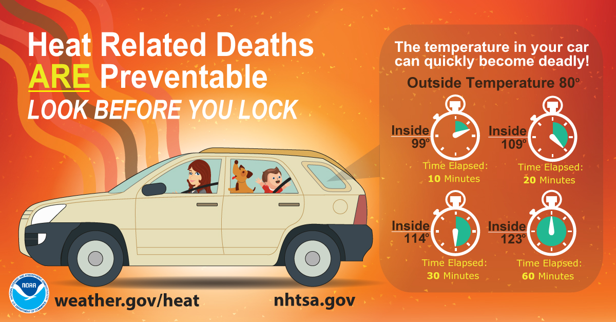 heat safety graphic