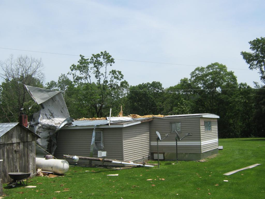 damage in Crawford County, WI