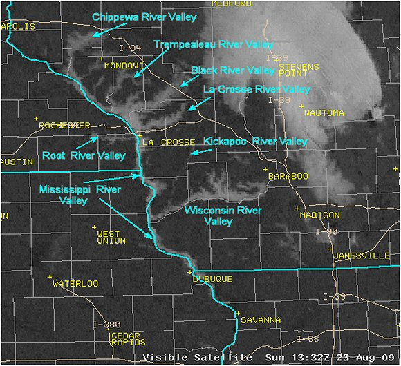 satellite fog image