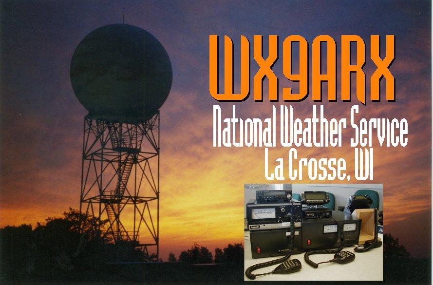 NWS La Crosse SKYWARN Amateur Radio Frequencies