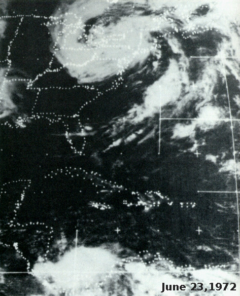 Satellite image June 23, 1972