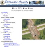 Delaware County Flood Photos.