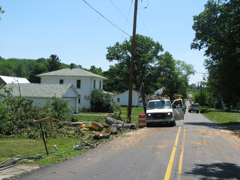 Alba/Canton area damage.