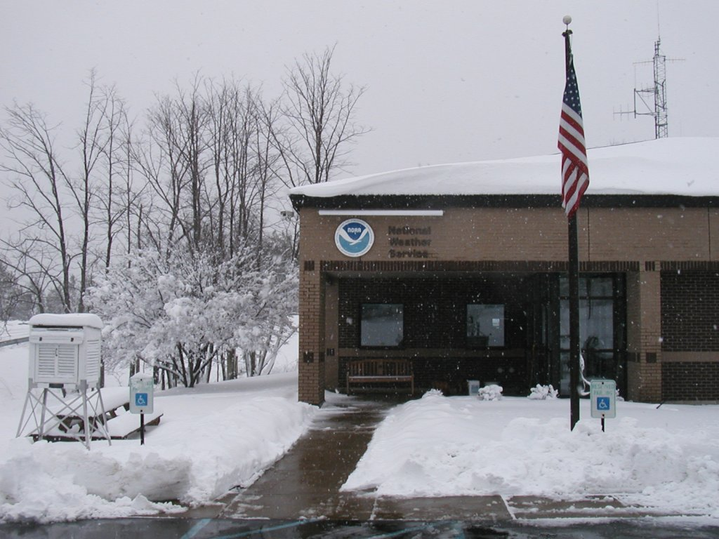 Snowy NWS Office April 16, 2007.