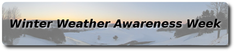 Winter Weather Awareness Week