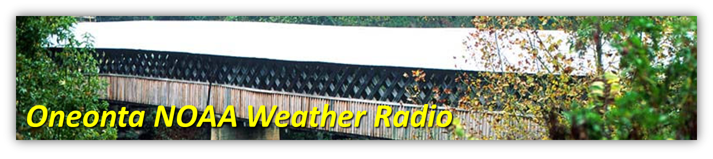 Oneonta NOAA Weather Radio