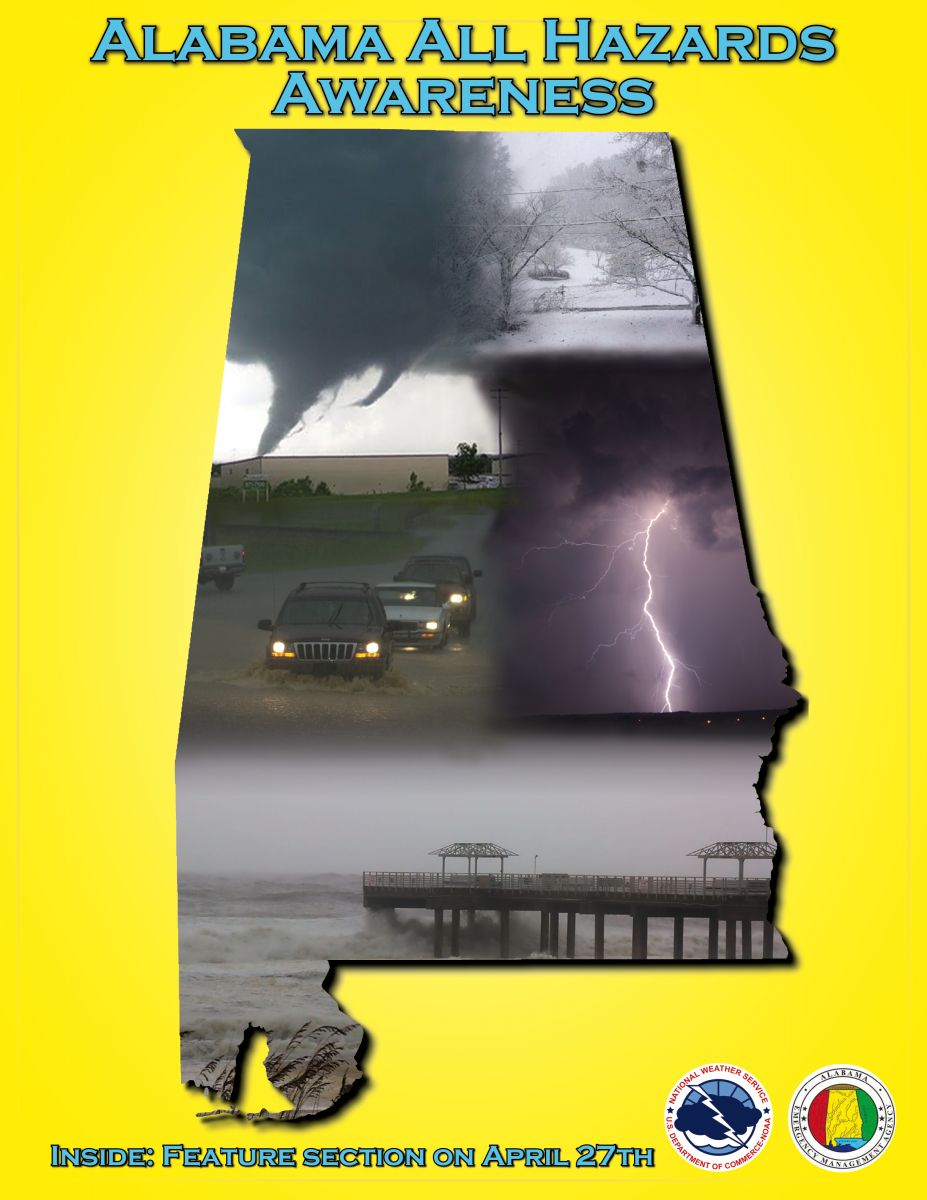 2013 Severe Weather Awareness Booklet Cover
