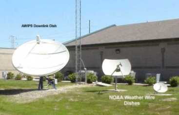 Communication Dishes at WFO Birmingham