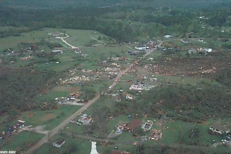 numerous houses damaged in west Jefferson County