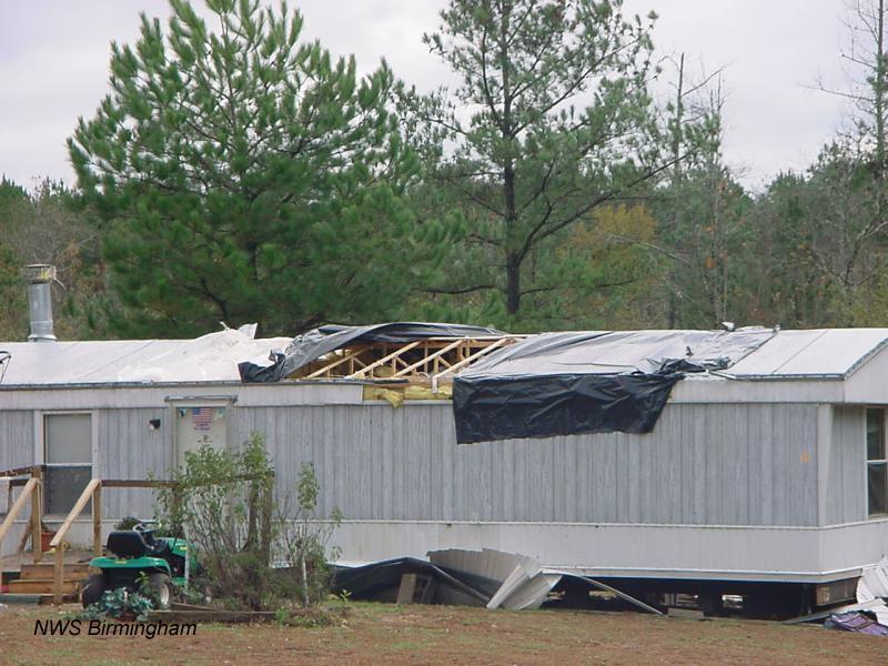 Oakman Parrish Tornado November 18 2003