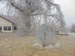 icy objects in randolph county