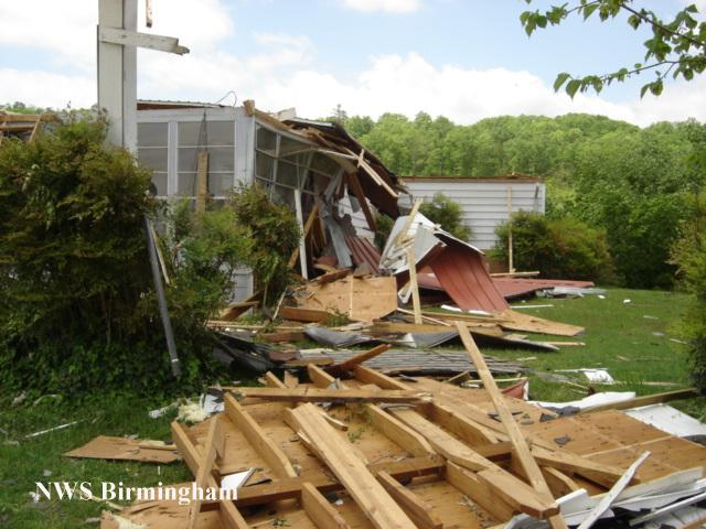Cherokee County Tornadoes April 22 2005
