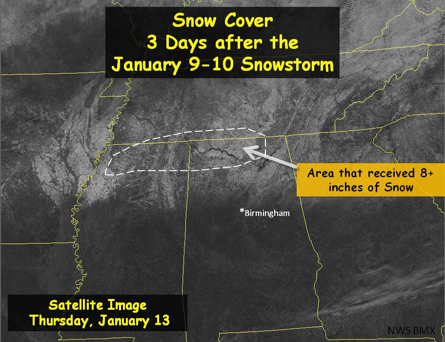 Satellite of Snow