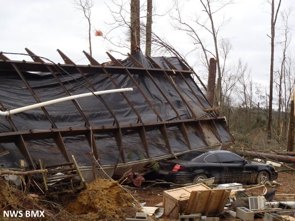 Conecuh River Tornado December 25 2012