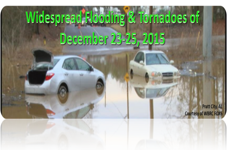 Historic Flooding of December 23-25, 2015
