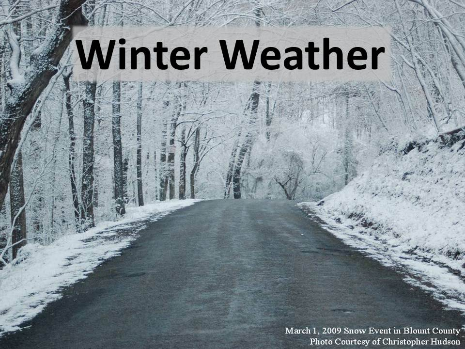 Click here for Winter Weather event summaries