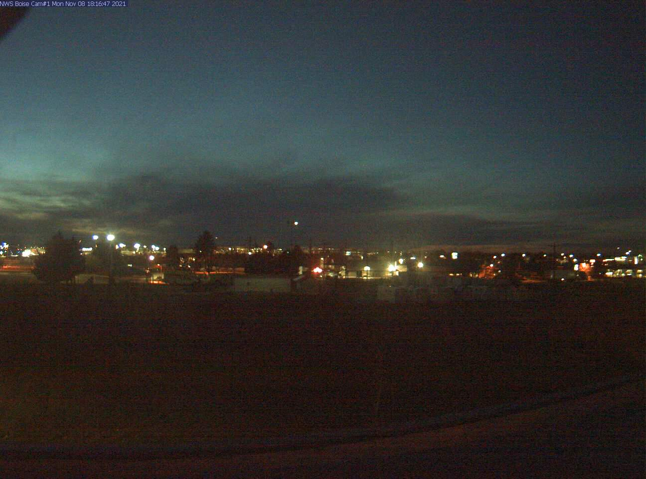 Picture of Boise web cam looking west
