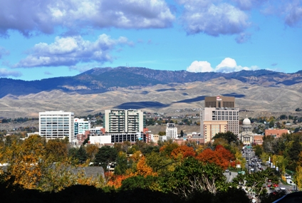 Local Climate of the Treasure Valley and Boise, Idaho