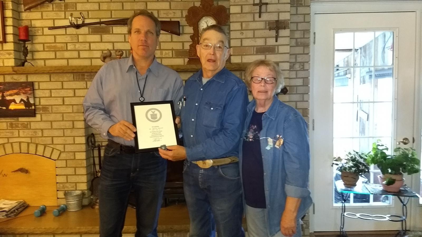 Hugo CO 25 year Length of Service Award