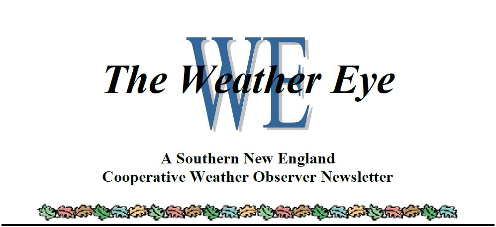 Weather Eyes Newsletter