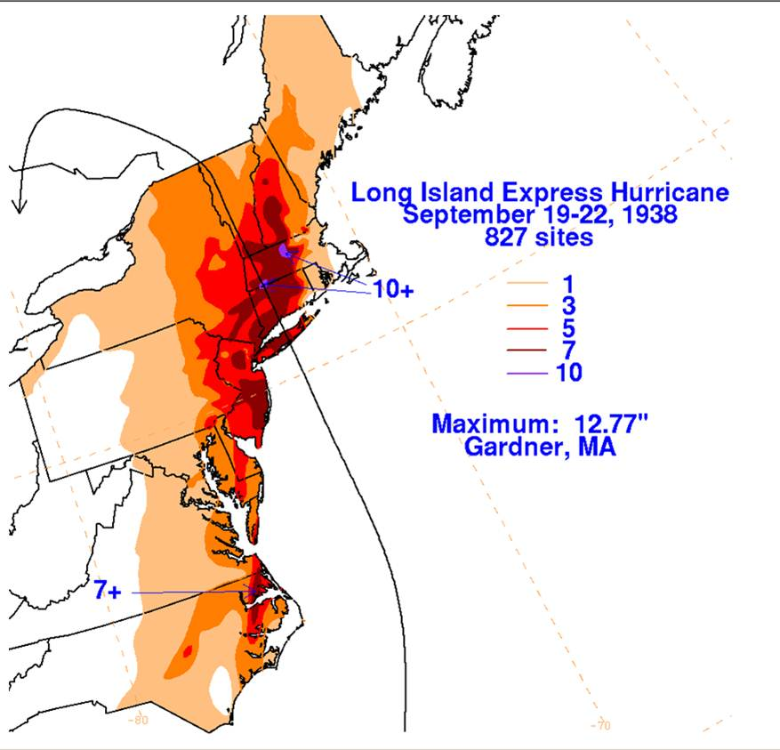 NWS Boston  The Great Hurricane of 1938