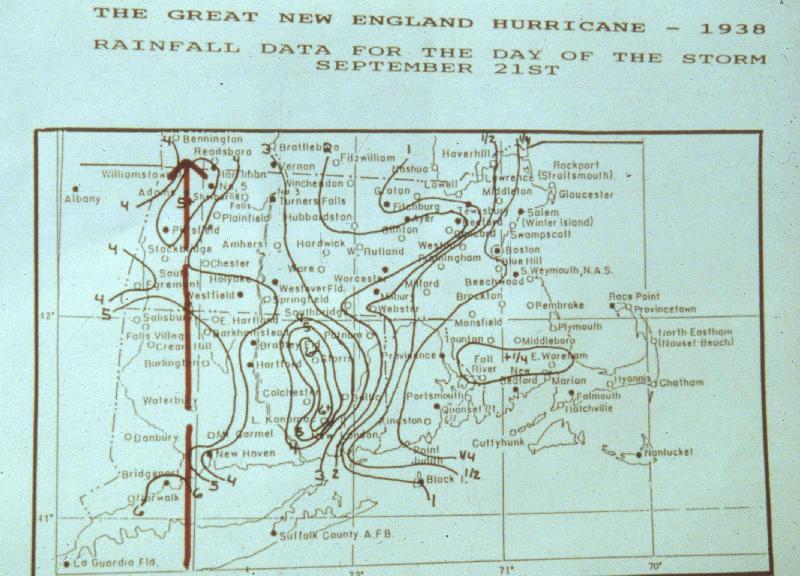 Nws Boston The Great Hurricane Of 1938