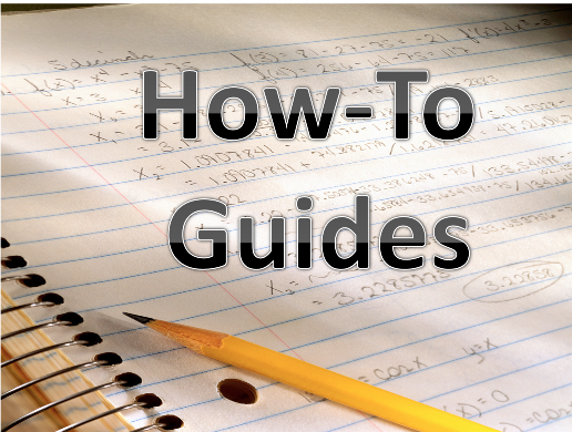 simple user guides for new and improved information and