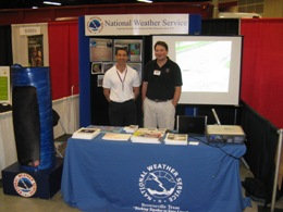 NWS Staff at the Hidalgo County Disaster Readiness Expo, McAllen